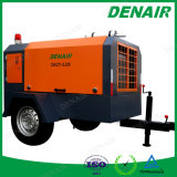 Industrieller Bergbau/beweglicher Dieselmotor-Schrauben-Bahnluftverdichter für pneumatische Hilfsmittel