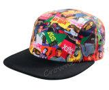 Chapéu feito sob encomenda das mulheres do tampão da cópia da flora do Snapback