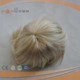 De synthetische Pruik van het Broodje van het Haar van de Vezel Korte (pPG-l-01581)