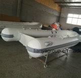 Vendita di alluminio della barca della nervatura del peschereccio di Liya 2.4m-4.8m Cina