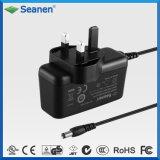 Kundenspezifischer Wählervielfach 18W Spannungs-Adapter Wechselstrom-18V 1A BS
