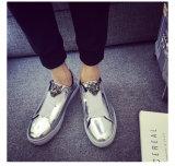 Ressort d'Aliexpress et chaussures en cuir lumineuses d'été la tendance de petites chaussures transfrontières de pédale de personnalité d'amoureux de chaussure