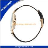 Suministro de la fábrica de estilo de platillo volante de acero inoxidable de moda señoras reloj de pulsera
