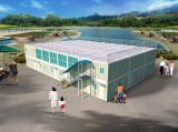 20 футов Переносной контейнер, движимых контейнер офис, мобильный офис контейнер
