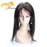 Frontals 100% e fechamentos indianos do laço do cabelo de Remy do Virgin