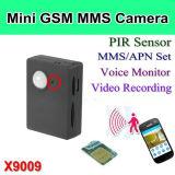소형 GSM 감시 카메라, PIR 경보 사진기 지원 GSM 통신망과 GPRS X9009