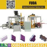 Hydraulischer automatischer Straßenbetoniermaschine-Block des Kleber-Qt4-18, der Maschine in Sri Lanka für Verkauf herstellt