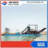 De Chinese Hoogste Emmerbaggermolen van het Zand van de Rivier van het Merk Met het Ageren van Helling