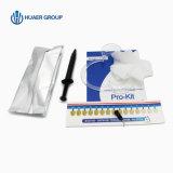 Dientes profesionales dentales de la clínica que blanquean el certificado privado del Ce de la insignia de los kits