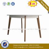 نمو تصميم جديدة أبيض لامعة [إإكسكتيف وفّيس] طاولة ([هإكس-غد006])