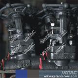 F304, F304L, F316, F316L forjados válvula gaveta de Aço Inoxidável