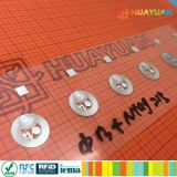 13.56MHz MIFARE 정보 수집과 교환을%s 고전적인 1K NFC 접착성 스티커 RFID 꼬리표