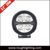 """L'automobile illumina 3 """" l'indicatore luminoso impermeabile rotondo del motociclo di 20W IP68 LED"""