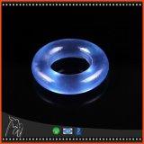 De Haan van de Ring van de Penis van de Vertraging van de Tijd van het silicone belt de Volwassen Willekeurige Kleur van de Ring van het Kristal van het Speelgoed van het Geslacht van Producten Mannelijke