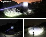 Drie Hoofd Multifunctionele LEIDENE van het Flitslicht Sterke Lichte Toorts met Sterke Magneet