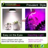 Amplio espectro de luz blanca crecer Bombilla LED E26 12W de luz de la planta buena para las plantas de interior