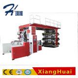Impresora flexográfica de la alta calidad de los colores de rodillo de la película multi de alta velocidad del papel