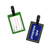 Personifizierte umweltfreundliche Gepäck-Marke, kundenspezifische Firmenzeichen-Masse-Gepäck-Marken