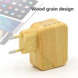 Caricatore di legno doppio della parete di corsa del USB del grano di 5V 2.1A