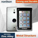 Sistema di controllo di accesso del portello del metallo di obbligazione Nt-106 singolo con luminoso
