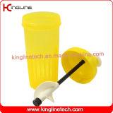 Nueva botella plástica de la coctelera del diseño 700ml con el mezclador plástico (KL-7089)