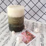 De aroma Gebemerkte Kruik van het Glas van Tealight van de Kaars van de Pijler Lacker