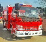 3 van de brandton vrachtwagen voor fabriek, kleine brandbestrijdingsvrachtwagen voor smalle straat