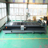 prix d'usine du CNC laser à fibre tube carré de ronde de la machine pour feuille de du tuyau de la coupe