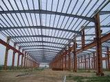 Capannone incorniciato dei velivoli della struttura d'acciaio, garage dell'aereo dell'acciaio per costruzioni edili con l'illustrazione