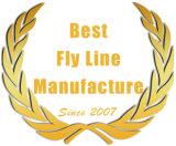 Ligne de Spey relingue de flotteurs de pêche de mouche de jaune pour le bâti de pêche de mouche