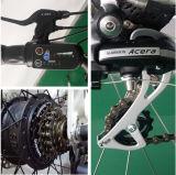 Bicicleta elétrica do passageiro da cidade de Enduro com indicador de diodo emissor de luz para mulheres