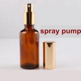 Frasco de vidro de óleo essencial com Bomba de Pulverização