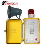 바다 전화 Knsp-15는 시끄러운 스피커를 가진 갱도 내부통신기를 방수 처리한다