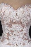 Vestido de casamento nupcial dos vestidos do baile de finalistas nupcial elegante da noite de Tulle do laço