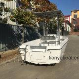 Vente de bateau de pêche de fibre de verre de bateau de Panga de vitesse de Liya 16.5FT