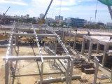鉄骨フレームは倉庫の構築の鉄骨構造を構成する