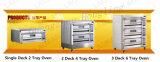 De luxueuze Commerciële Oven van het Gas van 3 Dek met de Prijs van de Fabriek