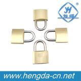 tipo pesado cadeado de bronze de 20mm-75mm com três chaves