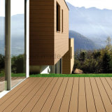 Installation simple en bois ignifugé WPC Composite Decking de plein air en plastique
