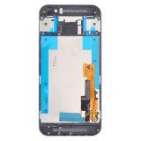 voor HTC Één M9 de Gouden LCD Delen van de Vervanging van de Becijferaar +Frame van het Scherm van de Aanraking van de Vertoning