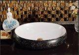 Санитарные продовольственный табличка искусства фарфора раковина для гостевой (C1196)