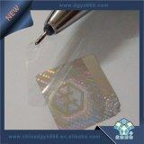 Étiquette hologramme transparent de haute qualité