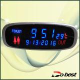 속도 경보를 가진 버스 디지털 시계