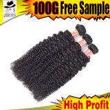 Brasilianisches Haar der Haar-Extensions-100%Human