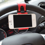 De universele Tribune van de Wieg van de Klem van het Stuurwiel van de Auto zet Houder voor Mobiele GPS van de Telefoon op
