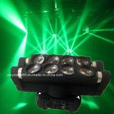8*10W 거미 광속 RGBW LED 이동하는 맨 위 빛