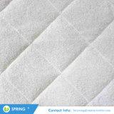 Ultra suave acolchada de bambú blanco Terry equipado estilo Hoja de bambú protector de colchón impermeable