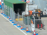 Alta Qualidade preço barato galvanizado Painéis cerca temporária para a construção (XMR57)