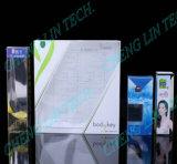 Gluer automatico del dispositivo di piegatura della scatola di plastica dell'ANIMALE DOMESTICO pp del PVC di Shenzhen Chenglin che piega incollando le scatole di plastica
