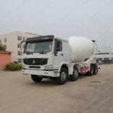 Sinotruk 16cbm 8X4 구체 믹서 트럭